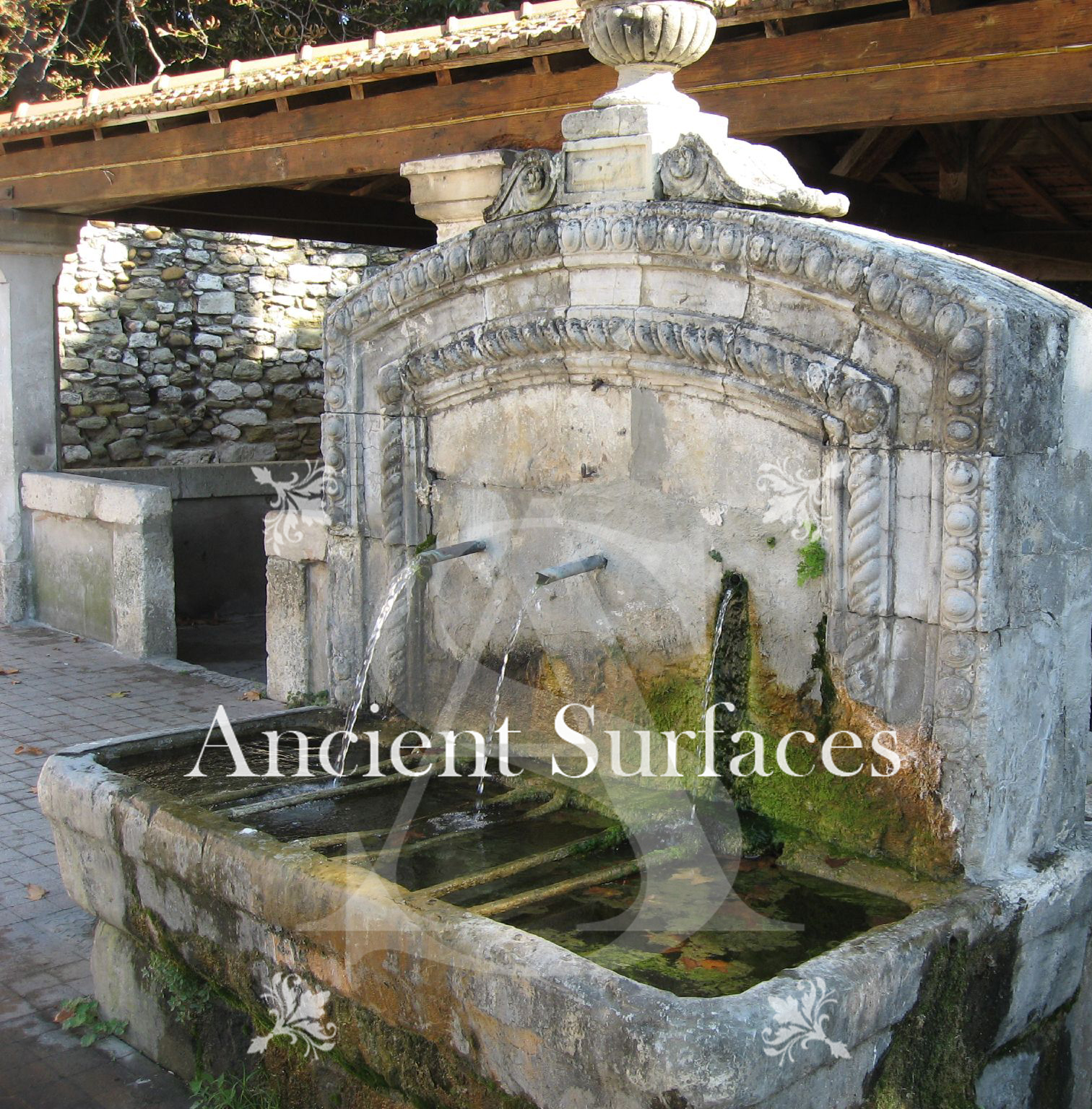 a unique antique stone wall fountain a life long dedication to quality stone products