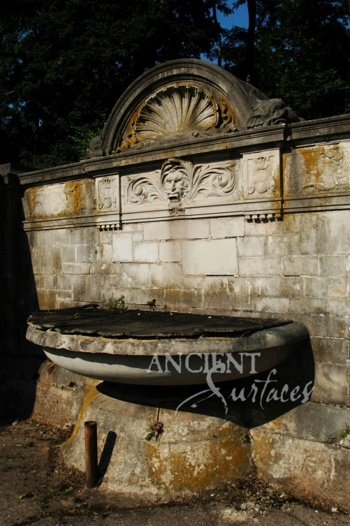 A 17th Century Antique Wall Fountain by Ancient Surfaces