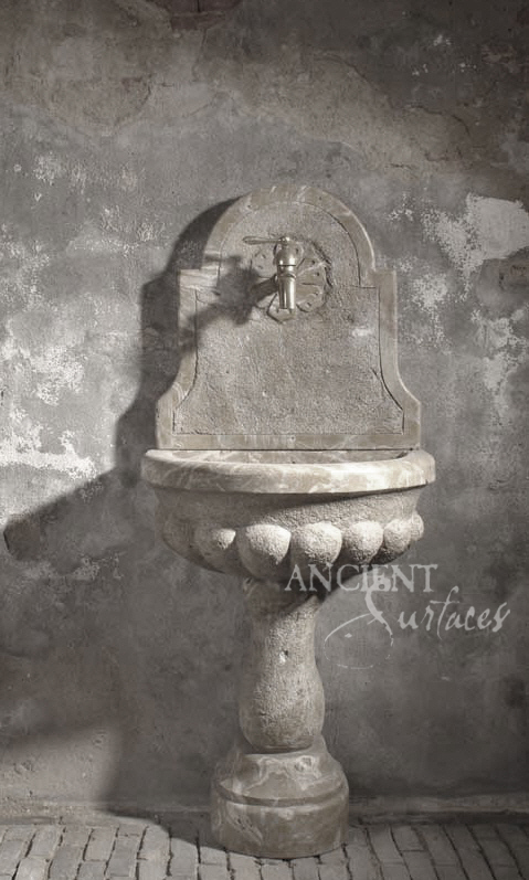 Al Fresco Antique Fountain Sink